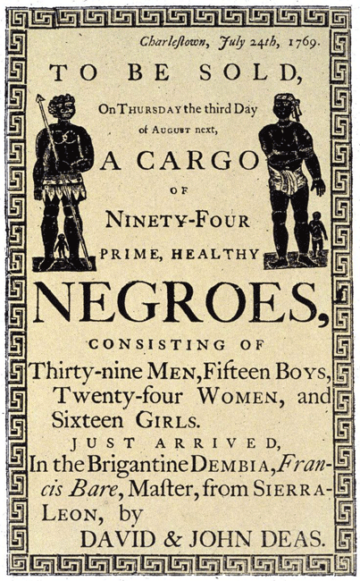 A Look at Slavery During the Middle Passage