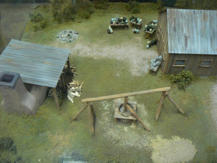 Diorama of the Pottersville Production Site