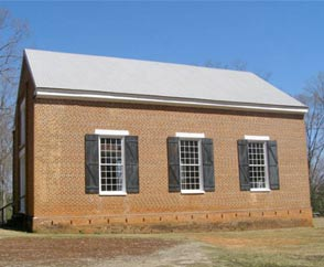 Old Presbyterian Church in Pickens