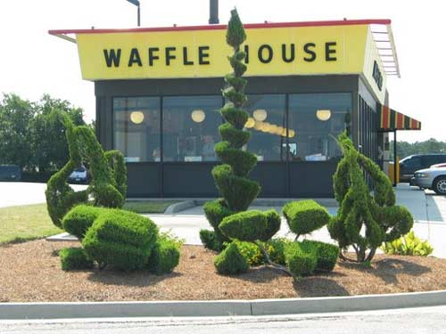 Bishopville's Waffle House