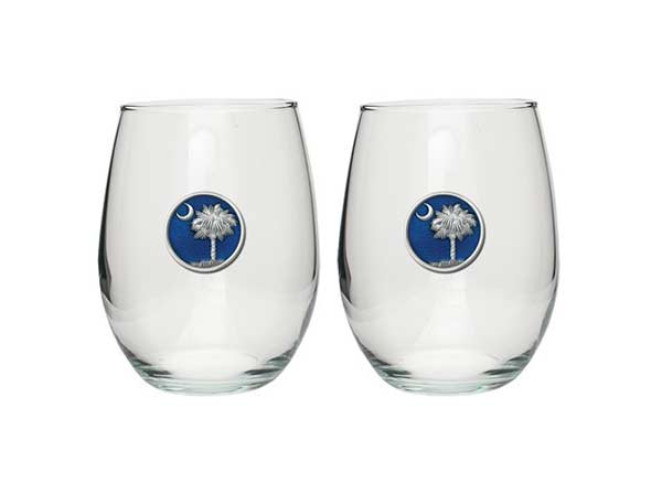 South Carolina Wine Glasses
