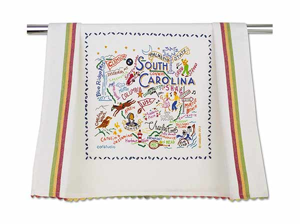 Decorative South Carolina Towel