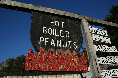 Long Creek Boiled Peanuts Stand